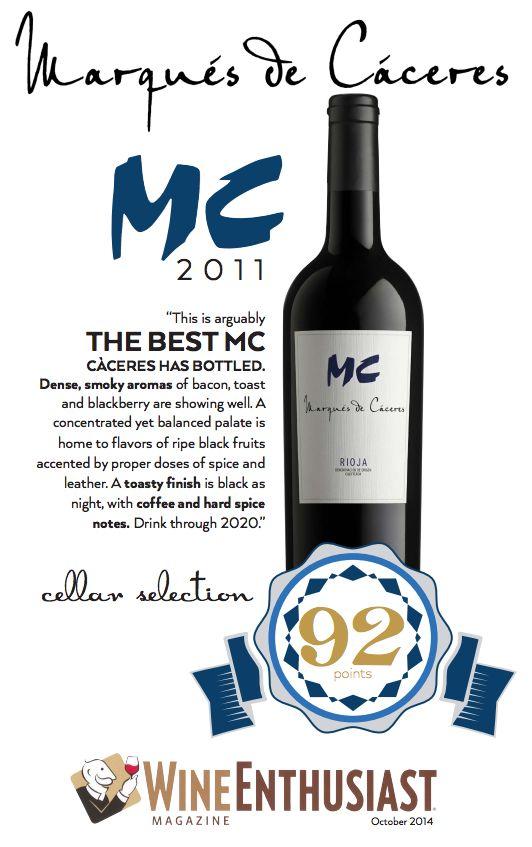 Marqués de Cáceres MC 2011