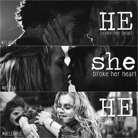 Image Result For Bellamy And Clarke First Kiss The 100