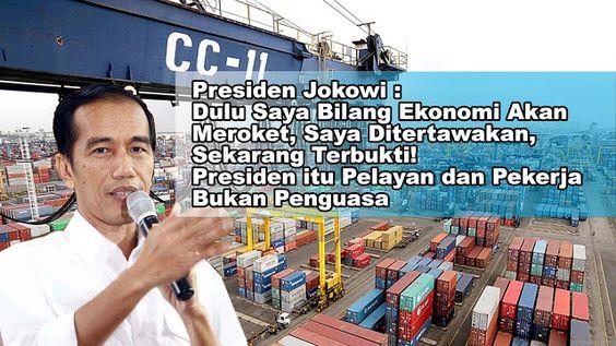 Salut 1 Tahun Jokowi, Neraca Dagang RI Tembus Rp 110 Triliun, Impor Turun USD 30,64 Miliar | Berita Jokowi