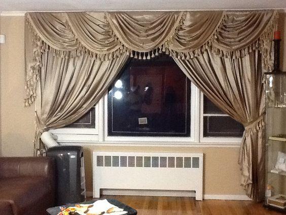 Cortinas para sala cenefas y cortinas pinterest for Catalogo de cortinas para sala