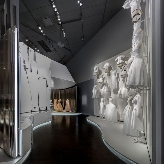OMA-designed dior exhibition opens at the denver art museum