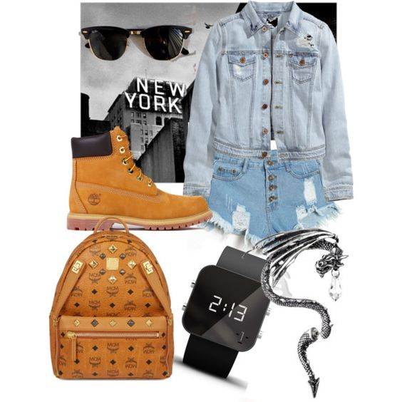 A fashion look from February 2015 featuring H&M jackets, Timberland boots and MCM backpacks. Browse and shop related looks.