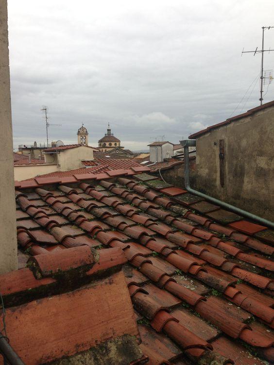 Rain on old Roofs...