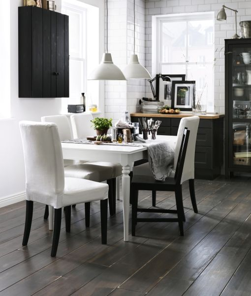 Kitchen Tables And More: The White, Fabrics And White Slip