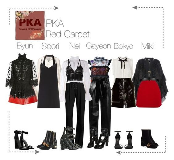 """Lunar (루나) PKA Red Carpet"" by lunar-official ❤ liked on Polyvore featuring Chloé, Joie, Isabel Marant, Delpozo, Fendi, Philosophy di Lorenzo Serafini, Yves Saint Laurent, Gucci, Romance Was Born and Opening Ceremony"