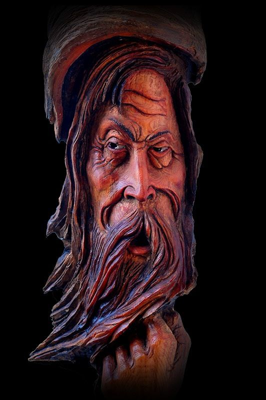 Trees sculpture and wood carvings on pinterest