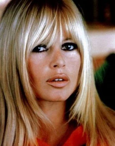 Perfect Blonde Hair & Bangs   Brigitte Bardot   Bohemian ...