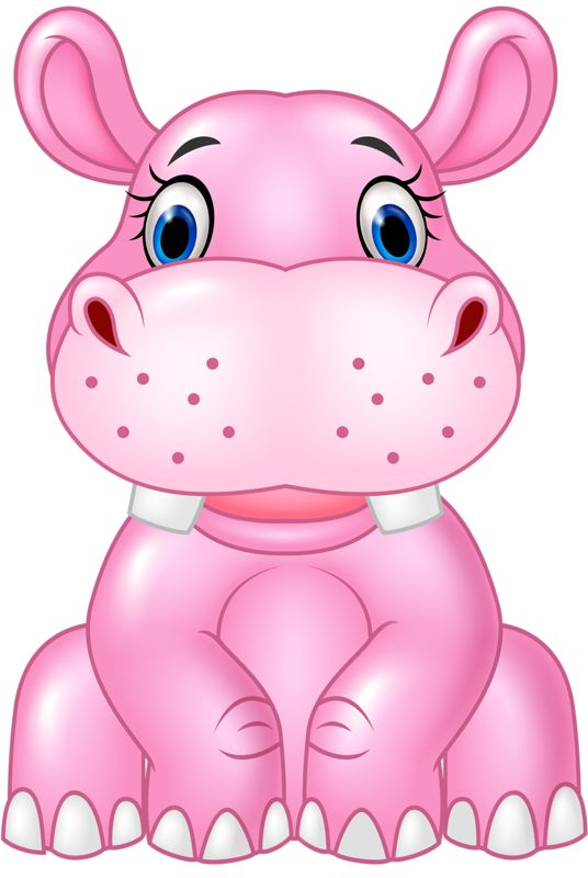 Baby hippo, Jungles and Cartoon on Pinterest