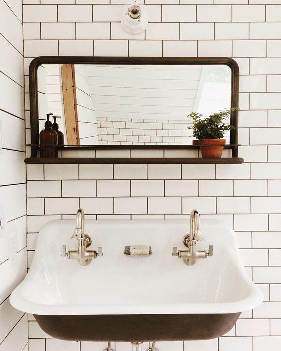 Coming Soon Vintage Bathroom Stylish Bathroom Mirror Decal