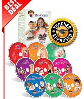 My Talking Toddler introduces speech, reading and communication, to your kids at an early age. Keeps them busy and teaches them sign Language, Verbs, animals, Music For Me, Vocabulary, Body Parts. #learning #education #dvd #kidactivies #kidfriendly