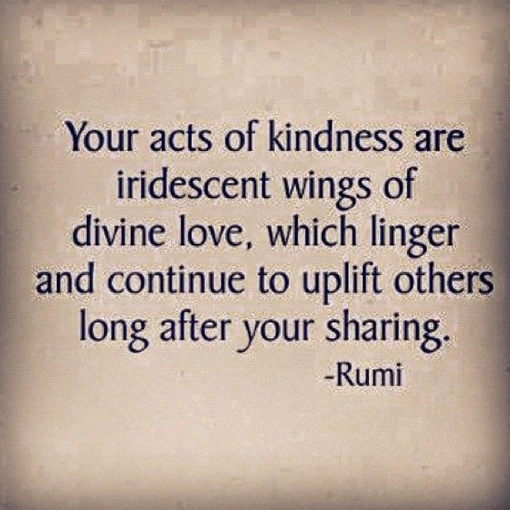 Your acts of kindness are iridescent wings of divine love, which linger and continue to uplift others long after your sharing. #quote #FlowConnection: