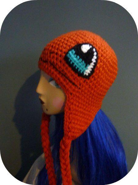 Free Crochet Pattern Pokemon Hat : Pokemon Charmander Crochet Hat Beanie Kawaii Crochet ...