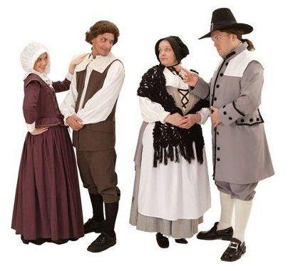 The Crucible Costume Rentals for Elizabeth Proctor, John Proctor ...