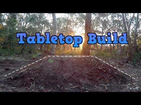 Making A Bmx Tabletop Dirt Jump Youtube Bmx Dirt Table Top Bmx