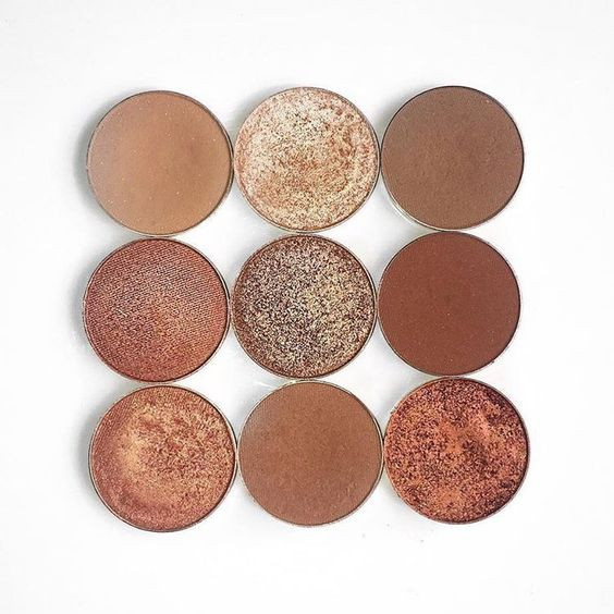Makeup Geek Eyeshadows in Creme Brulee, Latte, Roulette, Cocoa Bear, Cosmopolitan and Frappe Makeup Geek Foiled Eyeshadows in In The Spotlight, Grandstand and Flame Thrower. Look by: rosa_wx - makeup products - http://amzn.to/2hcyKic