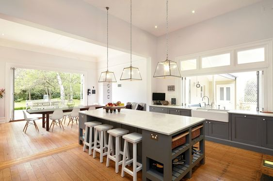 Hamptons highlands gardens architecture interior design for the kitchen pinterest Kitchen garden design australia