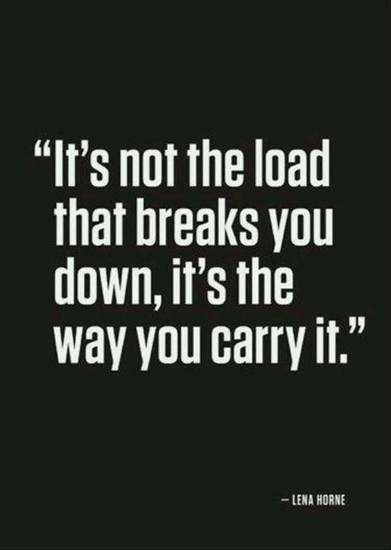 It's the way of carrying, that matters. - Imgur