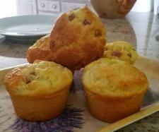 Recette Muffin au jambon - coeur vache qui rit par ginicat - recette de la catégorie Entrées