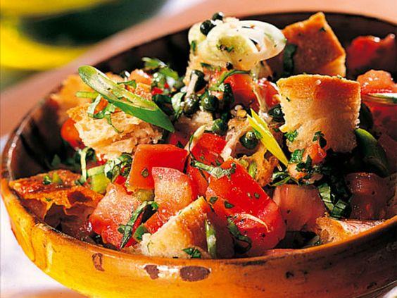Basic cooking-Rezept für Brotsalat aus der Toskana