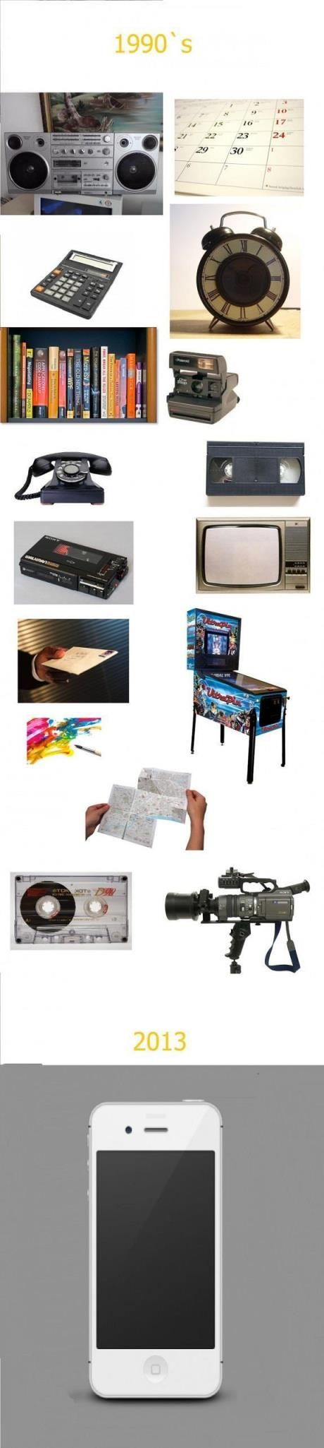 Evolution Of Tehnology Killing 1990`s Devices