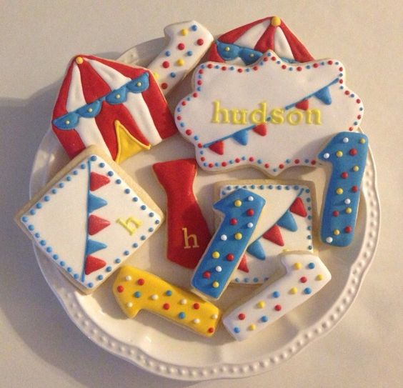 Circus cookies.