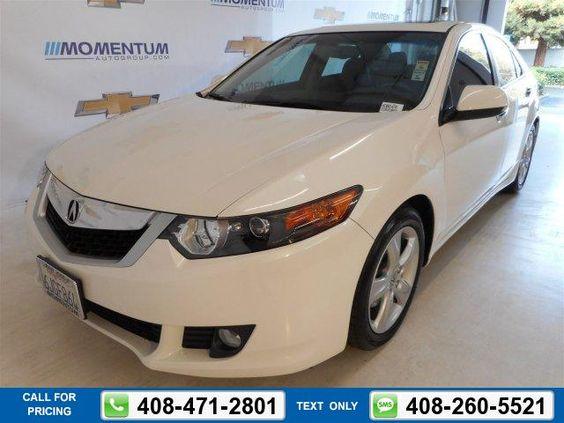 2010 Acura TSX  Sedan 4 Dr. 19k miles Call for Price 19189 miles 408-471-2801 Transmission: Automatic  #Acura #TSX #used #cars #MomentumChevrolet #SanJose #CA #tapcars