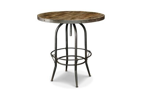 Table Haute Industrielle Rose Moore Table Haute Industrielle Mobilier De Salon Mobilier