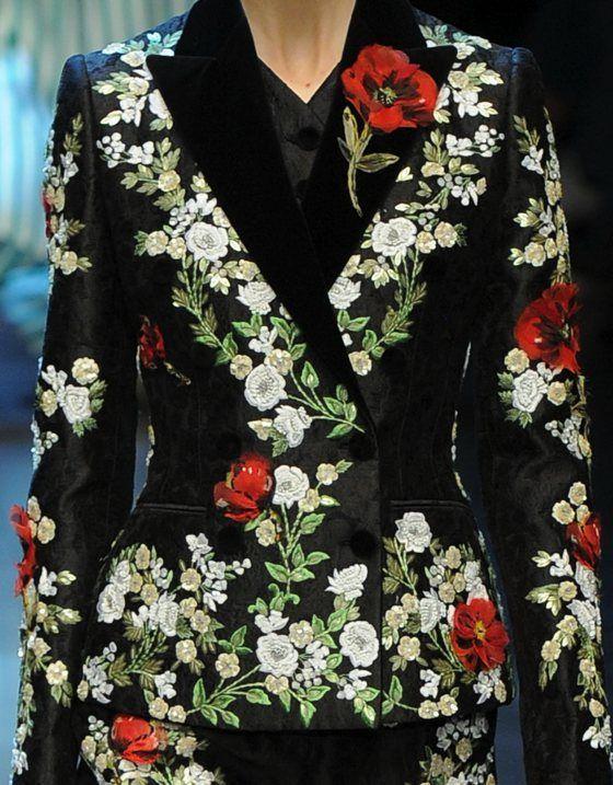 patternprints journal: PRINTS, PATTERNS, TEXTURES, DETAILS FROM MILAN CATWALKS (WOMENSWEAR S/S 2016) / Dolce & Gabbana