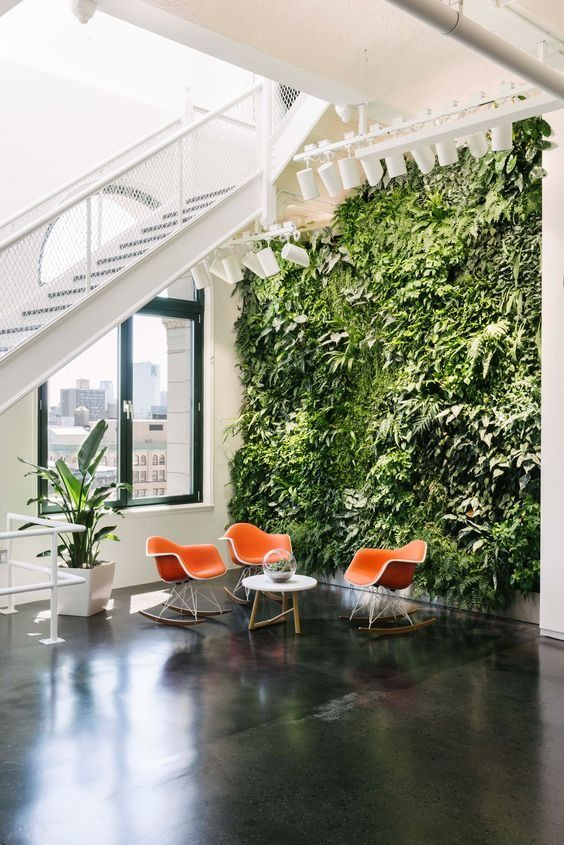 Inspiration Dezeen Botanical Biophilia Plants Interiors