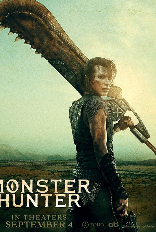 Five What By Five What Milla Jovovich And Tony Jaa Monster Hunter Monster Hunter Movie Milla Jovovich Tony Jaa