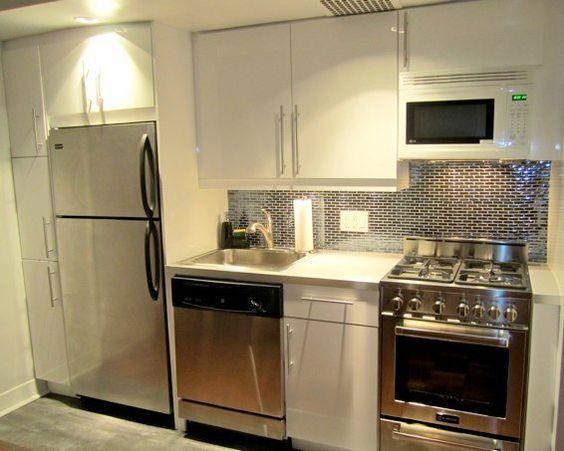 Decora o 20 cozinhas pequenas cores da casa armario - Armarios para casas pequenas ...
