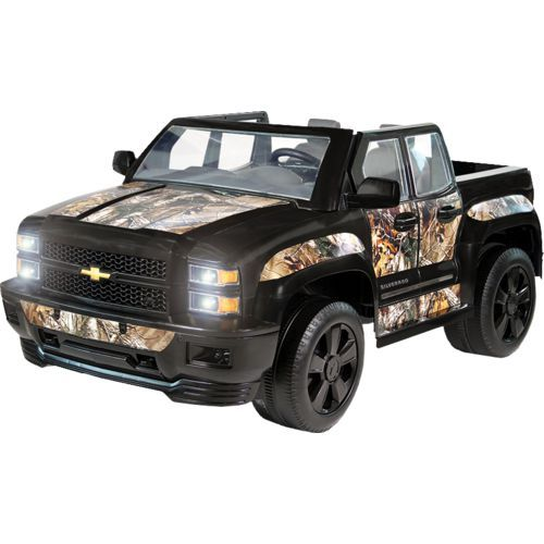 Rollplay Boys 12v Realtree Camo Chevy Silverado Ride On Vehicle