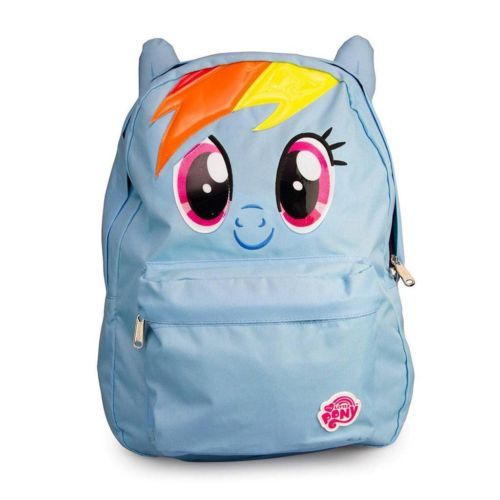loungefly my little pony rainbow dash backpack horse purse