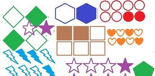 Matematicas Ejercicio Colorear Grupo De Figuras Para Representar Fracciones Primaria Fracciones Fracciones Para Primaria Matematicas
