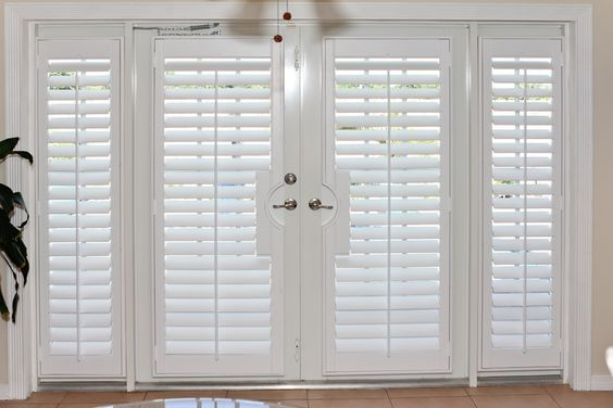 Exterior: Plantation Shutter, Shutters And French Doors On Pinterest