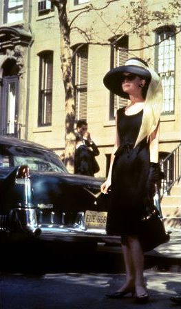"Holly Golightly: ""American Geisha,"" gold-digger, errand girl for gangsters, and runaway wife. Epitome of class."