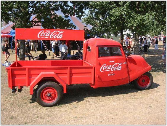 Coca Cola Dreiradoldtimer