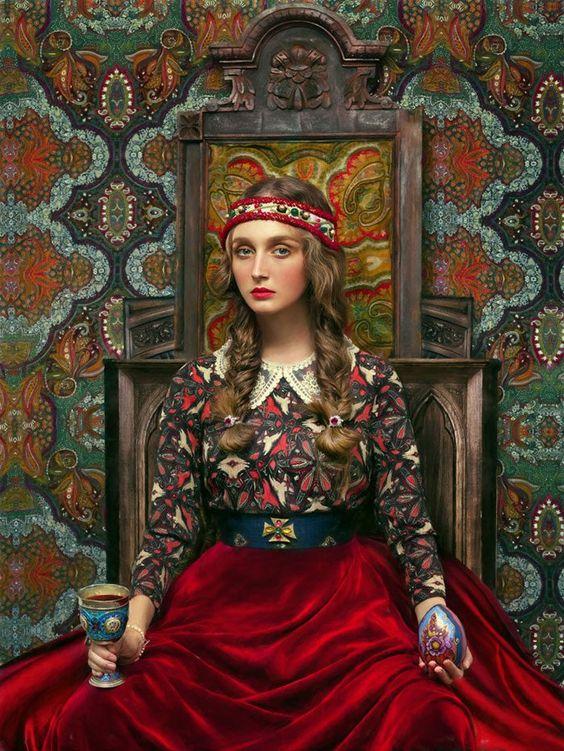Славянска фолклорна фотография - Яковле и Алеева