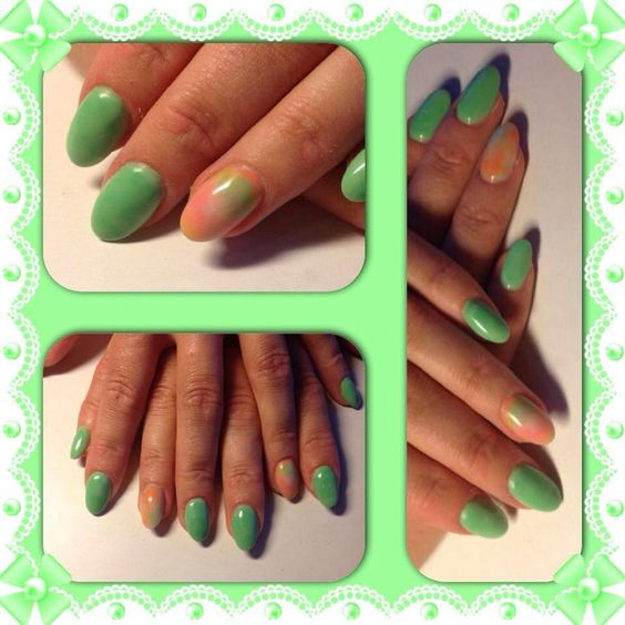 Green! Nails for you