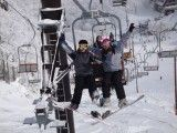 Skiing in Japan is always a culture filled fun experience!