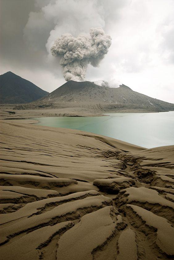 Tavurvur Volcano, Papua New Guinea / Love Your Mother <3