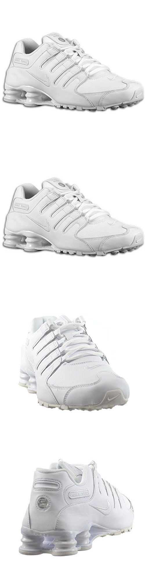 046c83b0a92 ... discount men shoes mens nike shox nz sneakers white shoes size 10.5  running leather 378341 128