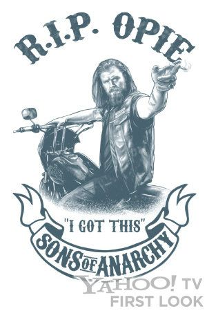 sons anarchy tattoo | ... Comic Con Exclusive: 'Sons of Anarchy' R.I.P. Opie…