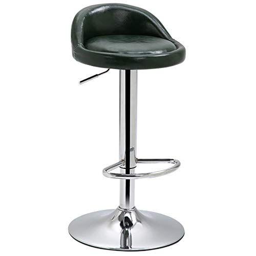 Admirable Jian E Rotatable Bar Stool Wrought Iron Leather Seat Dailytribune Chair Design For Home Dailytribuneorg