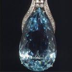 Aquamarine Broach by Unknown