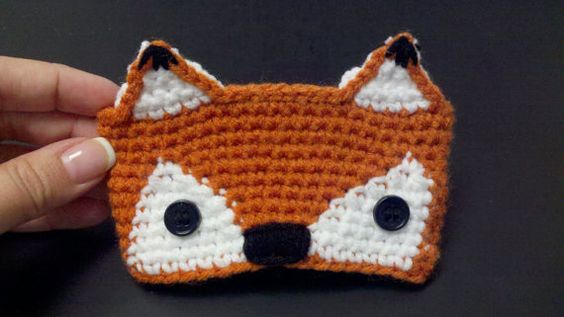 Cute little fox cup cozy