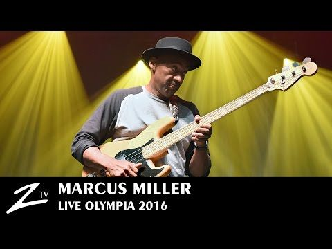 22 Marcus Miller Tutu Blast Olympia 2016 Live Hd Youtube With Images Live Hd Miller Jazz Music