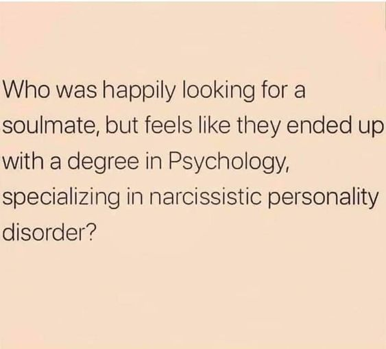 had to learn about narcissism to understand zack roppel