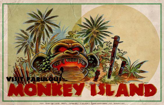 Visit Fabulous Monkey Island!