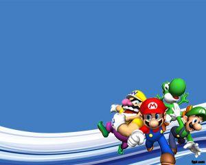 Super Mario Bros Powerpoint | Games PowerPoint Templates ...